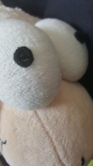 Mouton nuage - Gros yeux