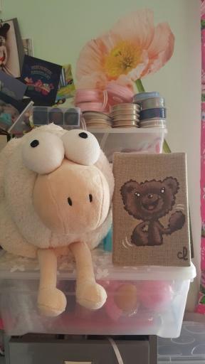 Le mouton nuage dans mon atelier
